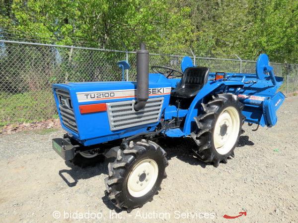 Iseki Diesel Tractor : Iseki tu wd diesel tractor utility ag farm speed