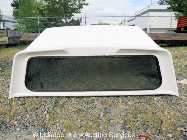 Leer 122 Truck Canopy Camper Cap Shell Privacy Glass Fiberglass Light Weight 7ft Ebay