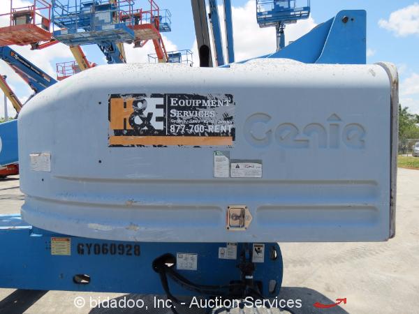 2007 Genie S40 40 Ft 4wd Diesel Articulating Boom Lift Man