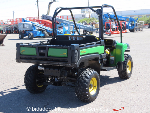 2011 john deere gator 855d 4wd xuv 854cc diesel utility. Black Bedroom Furniture Sets. Home Design Ideas