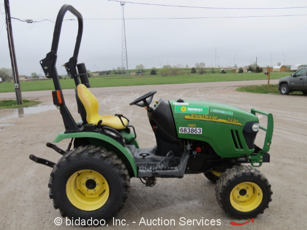 2008 john deere 2320 4x4 ag utility tractor aux hyd 3. Black Bedroom Furniture Sets. Home Design Ideas