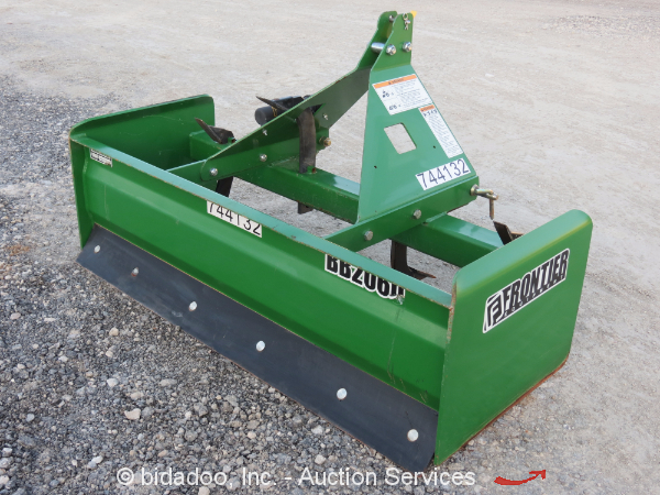 2015 Frontier Bb2065 60 Quot Box Blade Scraper 3 Point Hitch