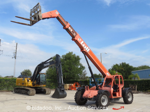 2007 lull jlg 644e-42 6k 42' telescopic reach forklift ... jlg 644e 42 fuel filter jlg 660sj fuel filter
