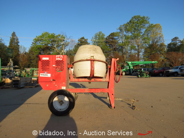 2012 Mq Multiquip Mc 94p Poly Drum Towable Tow Behind