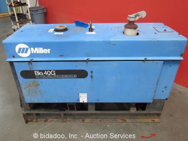 Miller big 40g welder Manual